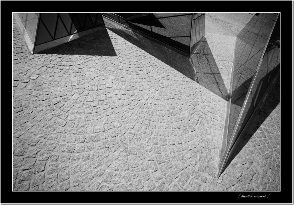side walk triangles